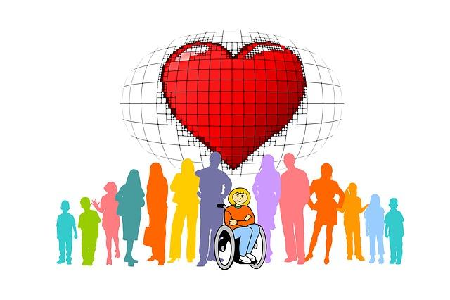lidé u invalidy
