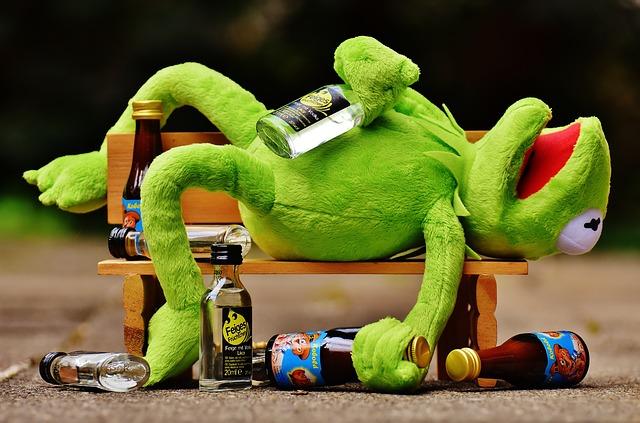 Opilec na lavičce