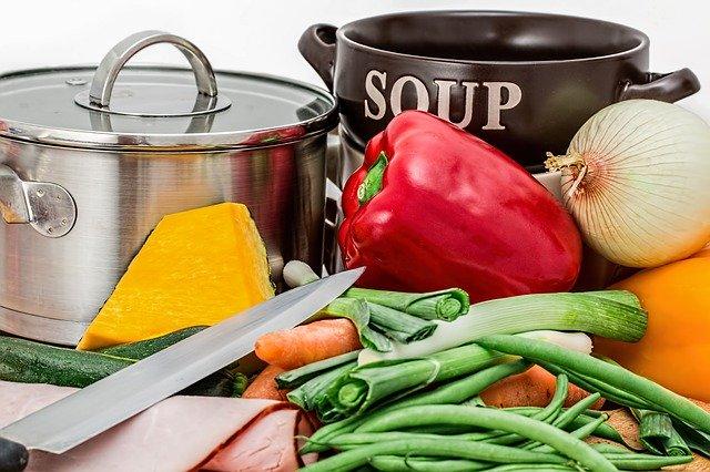Zelenina připravená na vaření