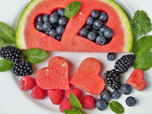 Ovoce v melounu