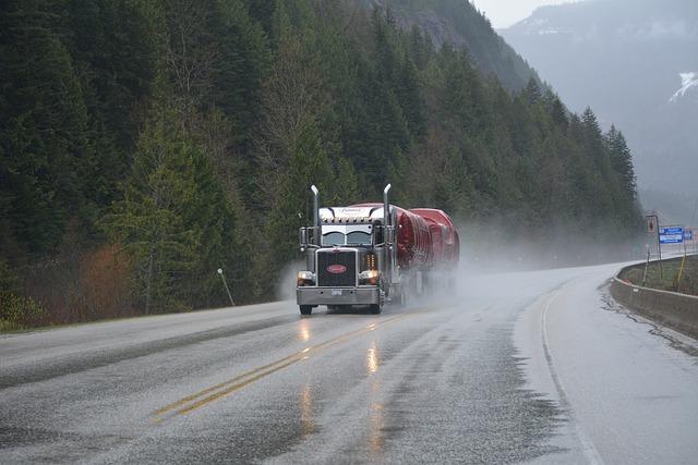 kamion doprava