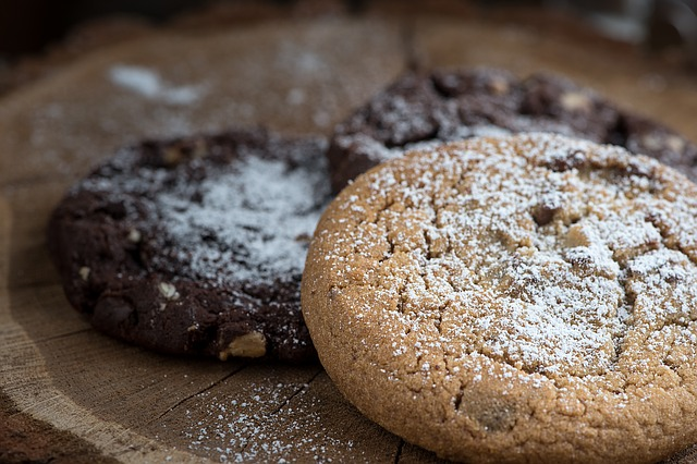 pocukrované cookies